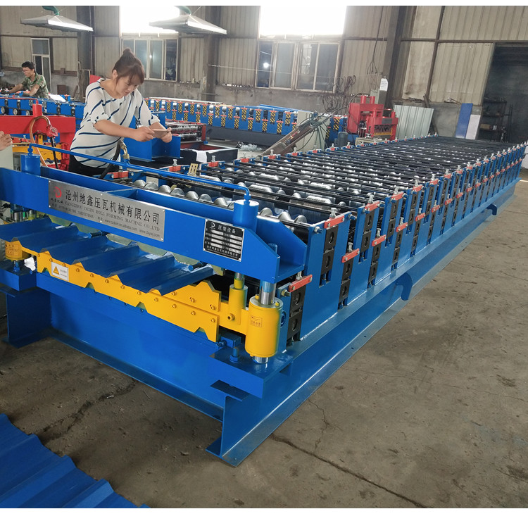 Roll Forming Machine Roof Trapezoida