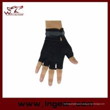 Táctico medio dedo guantes guantes Airsoft militar