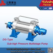 Dg Type Boiler Alimentation en eau chaude Pompe horizontale à plusieurs étages