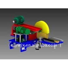 rollo de canal corrugado automático que forma la máquina con la sierra de la mosca