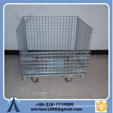 Heißer Verkaufs-hohe Stärke und Qualitäts-Puder beschichtete Draht-Käfig