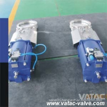 Pneumatic Lug&Wafer Wcb Knife Gate Valve