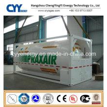 Conteneur-citerne ISO GPL LNG Lox Lin Lar Lco2