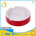 porcelain imitating wholesale two-tone round melamine custom ashtray