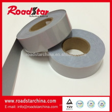 EN20471 silver stretchable reflective tape for safety