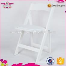 Cadeira dobrável de plástico do casamento no atacado