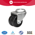 80Kg Bolt Hole Swivel PA Machine Caster