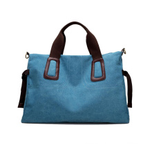 High Quality Tear Resistant Durable Cotton Tote Canvas Weekender Overnight Bag Travel Duffel Bag