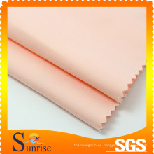 Algodón Nylon Spandex tela doble para ropa