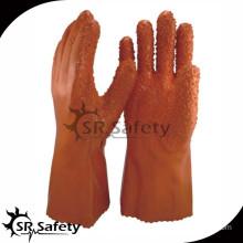 SRSAFETY Best longer industrial pvc gloves