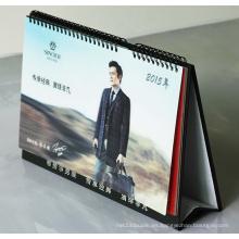 Imprimir el calendario del escritorio del póster 3D