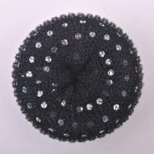 Shinny Polkadot Hair Donut Bun (BUN-26)