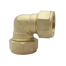90°Compression Brass Elbow Fittings