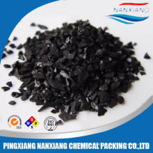 Coconut shell pellet activated carbon filter for water purification