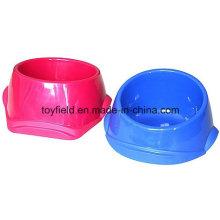 Tazón de fuente del alimentador del perro Tazón de fuente portable del animal doméstico del gato de la energía de bambú