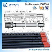 Tubo do guia da perfuração do banco R32 / T38 / T45 / T51