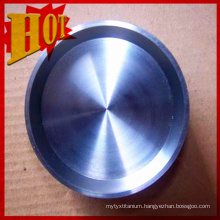 Pure Titanium Sputtering Target 99.9% Purity