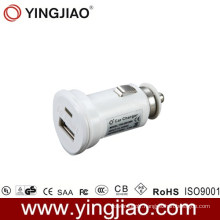 5V 2.1W 10W White DC USB in Car Charger