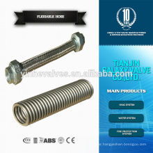 flexible stainless steel braided hose flange