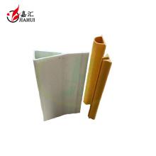 Tubo pultruido de fibra de vidrio, perfiles de FRP, tubo de pultrusión FRP
