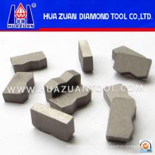 Различные типы алмазных сегментов для гранитной резки (HZ257)