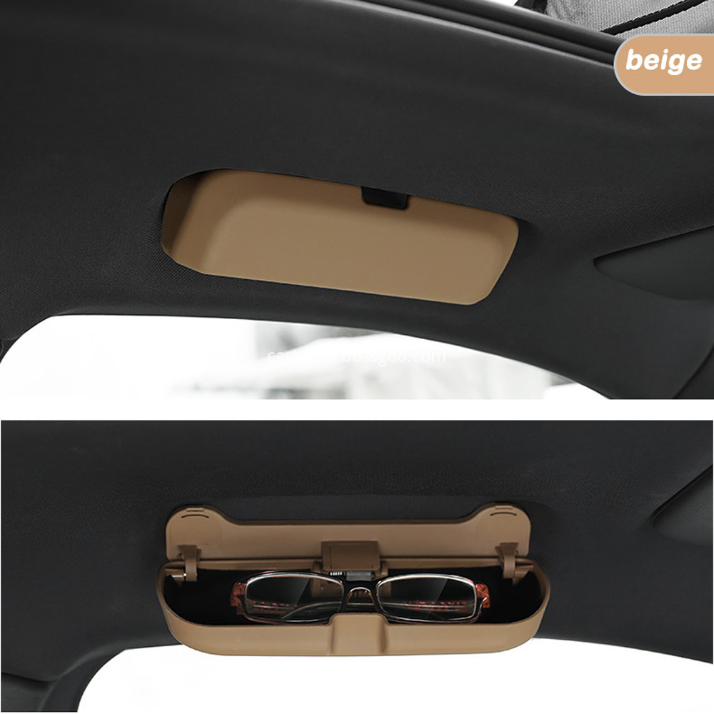 glasses box for porsche macan beige
