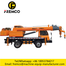 Five Telescopic Jib Tire Truck Crane