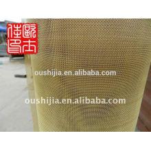 Простой сетки латунная сетка и латунная сетка / ткань