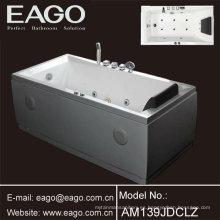 Bañera de hidromasaje de acrílico Bañera de masaje / bañera (AM139JDCLZ)