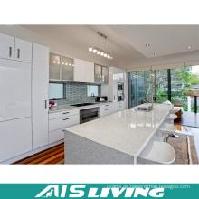 Hochglanz Lack Küchenschrank mit Stein Tisch (AIS-K252)