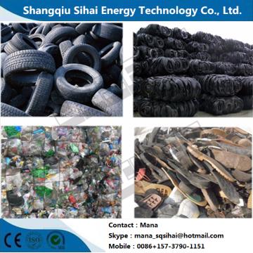 Waste plastic processing fule oil machinery