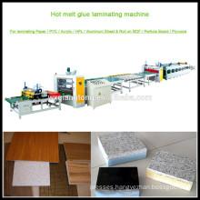 Film laminating machine with decorative paper / Honeycomb laminating machine