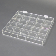 Acrylic Jewelry Case with Lid for Storage