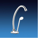 Single Cold Tap With Long Handle Lever Used In Hospital