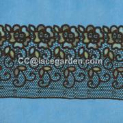 Encaje de malla bordado hecho en China