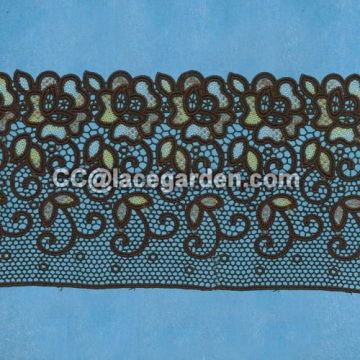 Embroidery Mesh Lace Made in China