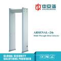 Multi-Alarm Zones LCD-Bildschirm Visuelle Alarme Tragbarer Metalldetektor