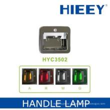 Lâmpada de lâmpada de LED lâmpada de chapeamento de luz decorativa com base de ABS