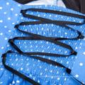 Grace Karin Mujeres Vestido Vestido de verano 2017 Retro Swing Gown Pin hasta Plaid Robe Vintage 50s 60s Rockabilly Vestido CL010496-5