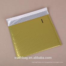 El logotipo modificado para requisitos particulares al por mayor imprimió el bolso del cojín del sobre del correo del bolso del correo de la burbuja del correo