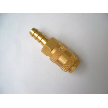 European market universal brass hose barb quick coupling