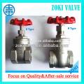 DN20 stainless steel gate valves
