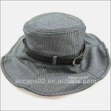Baratos sombreros de cuero correa cubo