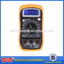 Multimètre numérique DT850L CE avec rétroéclairage avec GS