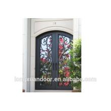 Design da porta principal, porta de ferro forjado, portas de entrada