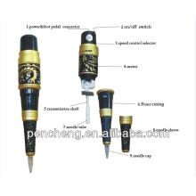permanent makeup Dragon tattoo machine & High quality tattoo machine brand