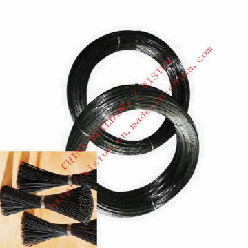Alambre recocido de alambre negro suave más barato alambre que ata al alambre fábrica de China