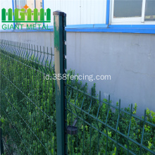 Peach Shaped Post Wire Mesh Fence