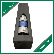Нестандартная Конструкция печатая рифленая Коробка Упаковывая для вина