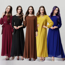 2016 Hot Sale Impressão personalizada Abaya Kaftan